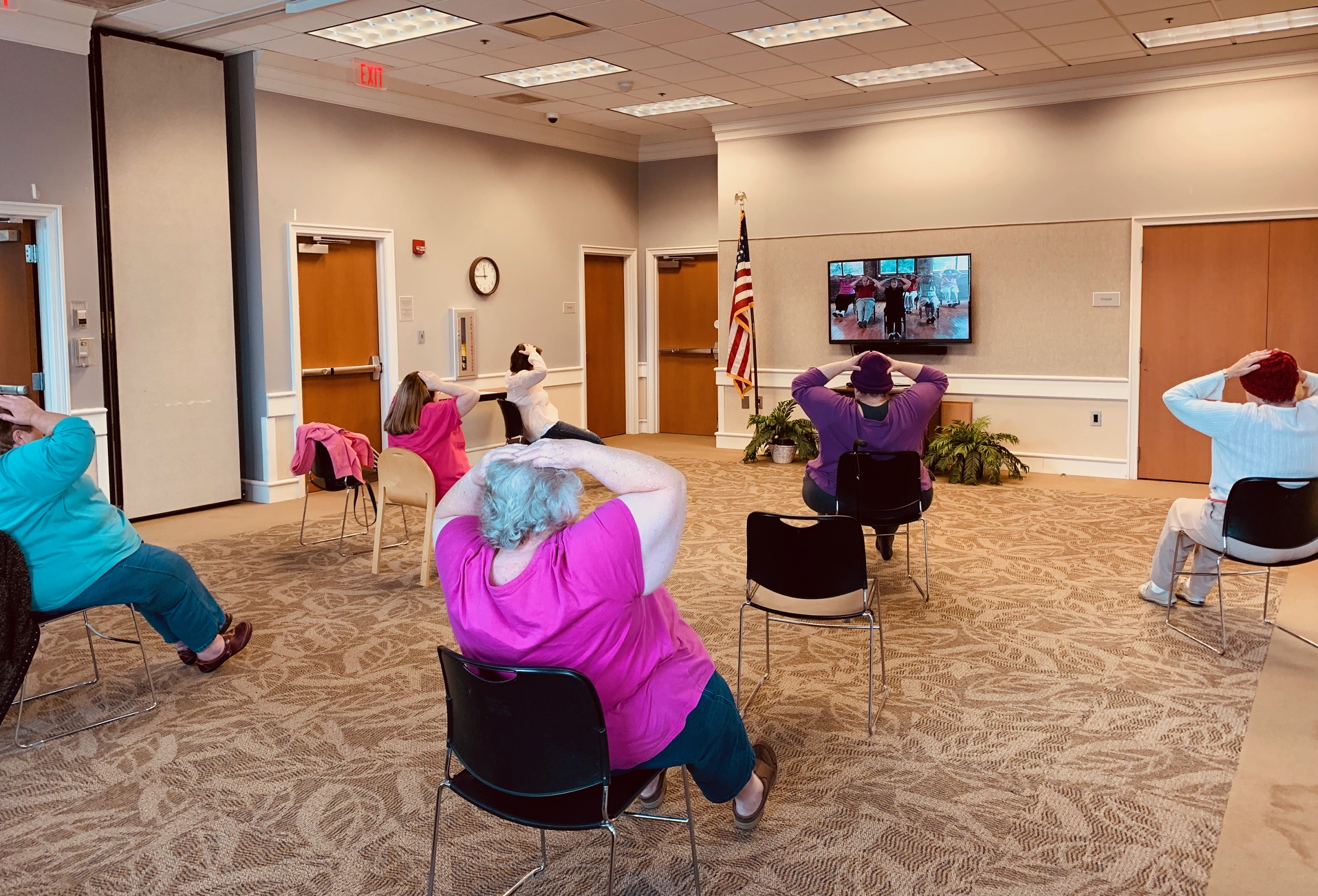 [GPL] E-Z Exercise - Stretching @ Galax Branch