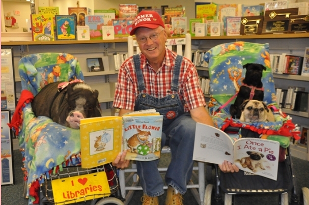 [CCPL] Farmer Minor & Daisy @ Carroll Branch