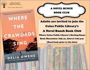 A Novel Bunch Book Club