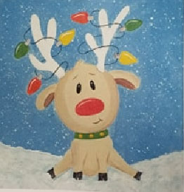 [CCPL] Kids Paint - Reindeer @ Carroll County Public Library